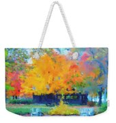 Cabin In The Park II Weekender Tote Bag