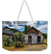 Cabin In The Sagebrush Weekender Tote Bag