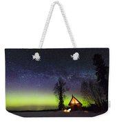 Cabins Glow Weekender Tote Bag