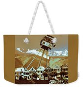 Cable Car Fly - San Francisco Collage Weekender Tote Bag