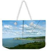 Cable Lift Weekender Tote Bag