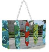 Cabo Surfboard Sculpture 1 Weekender Tote Bag
