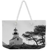 Cabrillo Lighthouse 3 Weekender Tote Bag