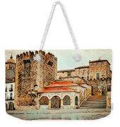 Caceres Spain Artistic Weekender Tote Bag