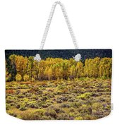 Cache La Poudre River Colors Weekender Tote Bag by Jon Burch Photography