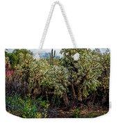 Cactus And Bird Weekender Tote Bag