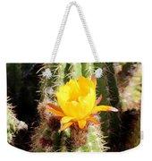 Cactus Bloom 033114a Weekender Tote Bag