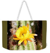 Cactus Bloom 033114e Weekender Tote Bag