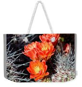 Cactus Bloom 033114j Weekender Tote Bag