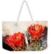 Cactus Bloom 033114m Weekender Tote Bag