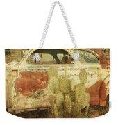 Cactus Car Weekender Tote Bag