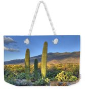Cactus Desert Landscape Weekender Tote Bag