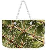 Cactus Diagonal Pattern Weekender Tote Bag