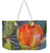 Cactus Flower And Buds Weekender Tote Bag
