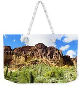 Cactus On The Mountainside Weekender Tote Bag
