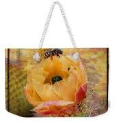 Cactus Spring Beauty W Frame Weekender Tote Bag