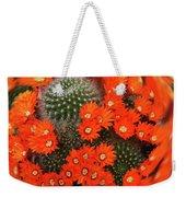 Cactus Swirl Weekender Tote Bag