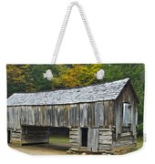 Cades Cove Barn Weekender Tote Bag