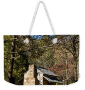 Cades Cove Early Settler Cabin  Weekender Tote Bag