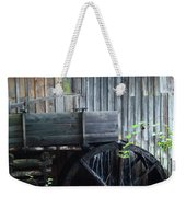 Cade's Cove Historic Cable Mill Water Wheel Weekender Tote Bag