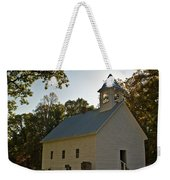 Cades Cove Methodist Church Aglow Weekender Tote Bag