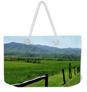 Cades Cove View Weekender Tote Bag
