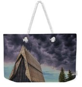 Cadet Chapel At The United States Air Force Academy Weekender Tote Bag