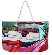 Cadillac Convertible -  A Car Class  Weekender Tote Bag