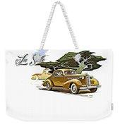 Cadillac Lasalle Weekender Tote Bag