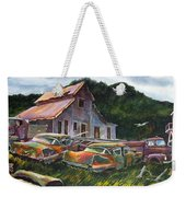 Cadillac Ranch Weekender Tote Bag