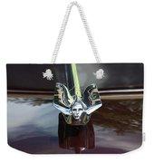 1949 Cadillac La Salle - Hood Ornaments Weekender Tote Bag