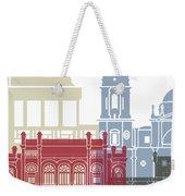 Cadiz Skyline Poster Weekender Tote Bag