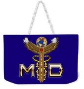 Doctor Caduceus Medical Md2 Weekender Tote Bag