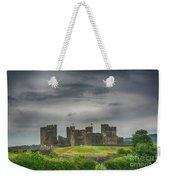 Caerphilly Castle East View 3 Weekender Tote Bag