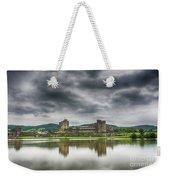 Caerphilly Castle North View 1 Weekender Tote Bag