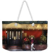 Cafe - Jolly Trolley Weekender Tote Bag
