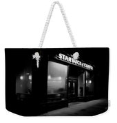 Cafe At Night  Weekender Tote Bag