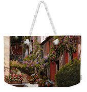 Cafe Bifo Weekender Tote Bag by Guido Borelli
