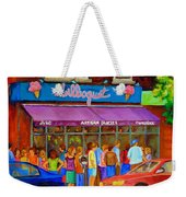 Cafe Bilboquet Ice Cream Delight Weekender Tote Bag