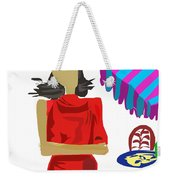 Cafe Chic Weekender Tote Bag