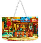 Cafe Coin Des Artistes Weekender Tote Bag