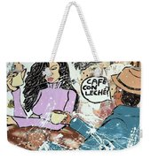 Cafe Con Leche Weekender Tote Bag
