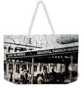 Cafe Du Monde Weekender Tote Bag