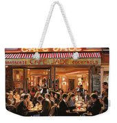 Cafe Jade Weekender Tote Bag by Guido Borelli
