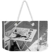 Cafe Paris - Local Street Cafe In Sofia Weekender Tote Bag