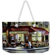 Cafe Regulars Weekender Tote Bag