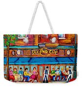 Cafe Second Cup Terrace Weekender Tote Bag