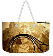 Cafe Sign In Bavarian Alps Weekender Tote Bag