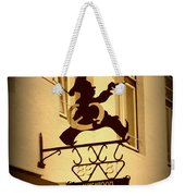 Cafe Sign In Holland Weekender Tote Bag