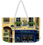 Cafe Van Gogh Weekender Tote Bag by Marilyn Dunlap